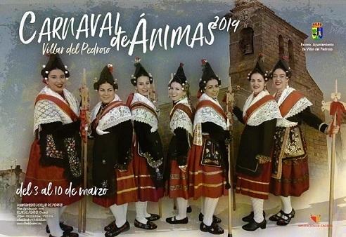 Villar del Pedroso celebra un carnaval diferente, el Carnaval de Ánimas