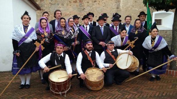 """Villar del Pedroso participa en el V Seminario de Folklore """"Saber Popular"""" en Olivenza"""