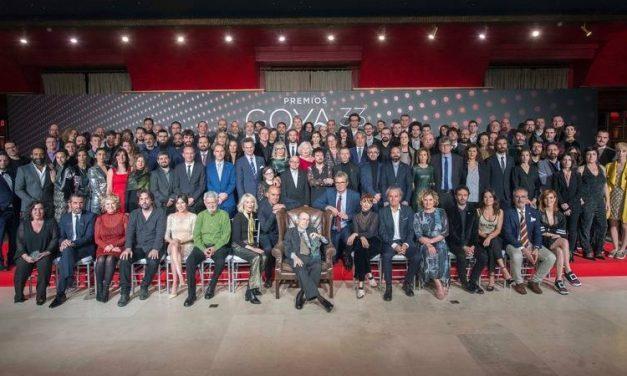 Rubin Stein, un moralo en la Gala de los Goya