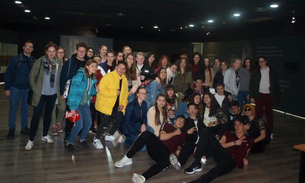 Los IES Albalat y Augustóbriga visitan CNA con alumnos europeos