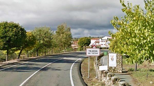Joven herido en un accidente de tráfico a la altura de Tejeda de Tiétar