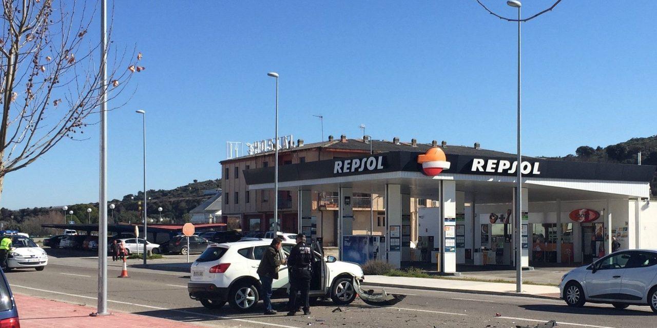 Dos vehículos sufren un accidente en la zona de la Bamba de Navalmoral