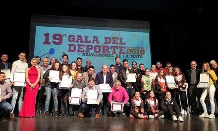 Ainoa de la Osa y Carlos Issac mejores deportistas moralos en la XIX Gala del Deporte