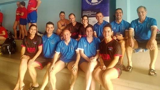 La asociación ADA participa en la 3ª jornada de la Liga Open Máster de natación en Badajoz