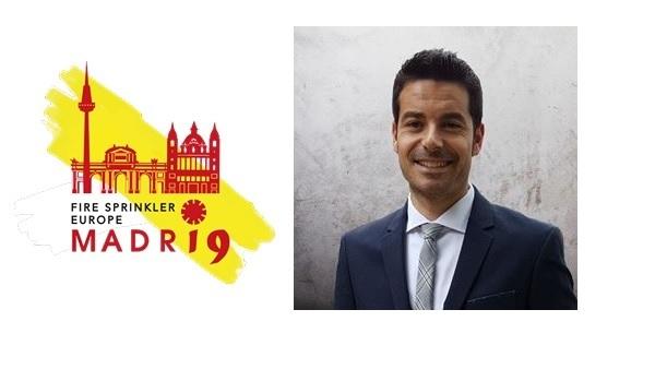 """El bombero Agustín Miguel Salguero será ponente en el Congreso Internacional """"Fire Sprinkler Europe, Madrid 2019"""""""