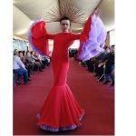 La diseñadora morala Alba García triunfa en Olivenza