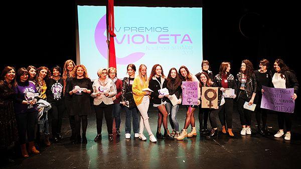Navalmoral celebra la IV Gala de los Premios Violeta