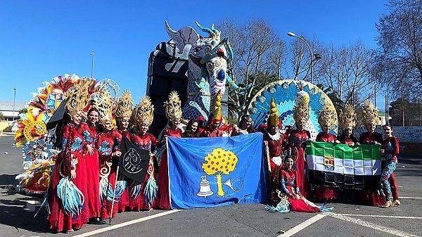 La Peña Vértigo consigue un magnífico séptimo puesto en el Carnaval de Ciudad Real