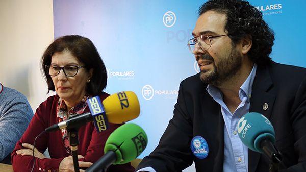 El PP acusa al PSOE de oportunismo electoral por su presencia en la movilización para la continuidad de CNA