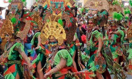 Buen sabor de boca tras el primer desfile grande del Carnavalmoral 2019