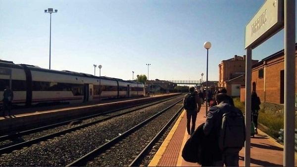 Se avería en Torrijos el tren Madrid-Plasencia