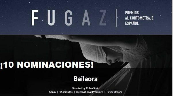 Rubin Stein consigue con Bailaora 10 nominaciones en los premios Fugaz