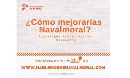 Cs Navalmoral presenta una Plaforma Participativa Ciudadana