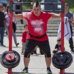 El atleta losareño Daniel Castaño, segundo en el Preliminar de la Liga Nacional de Fuerza