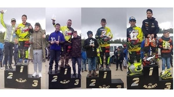 La Escuela Off-Road Campo Arañuelo logra cuatro podios en la Cross Country de Piornal