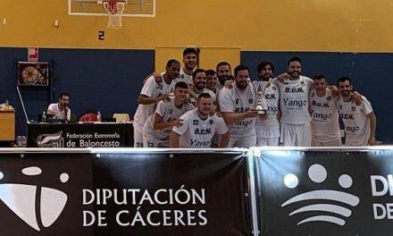 El Basket Club Navalmoral se proclama Campeón de Extremadura