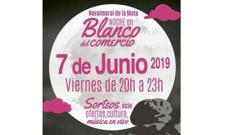 """""""Noche en Blanco"""" 2019 en Navalmoral para disfrutar comprando"""