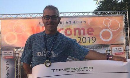 Toni Franco se corona como Campeón del Mundo de Triatlón en larga distancia 2019