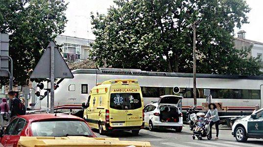 Muere una mujer arollada por el tren en Navalmoral