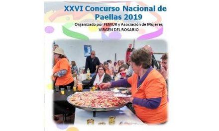 Las mujeres de Peraleda de San Román organizan el XXVI Concurso Nacional de Paellas 2019