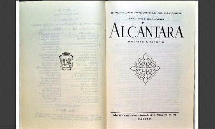 La Diputación digitaliza la revista cultural extremeña Alcántara