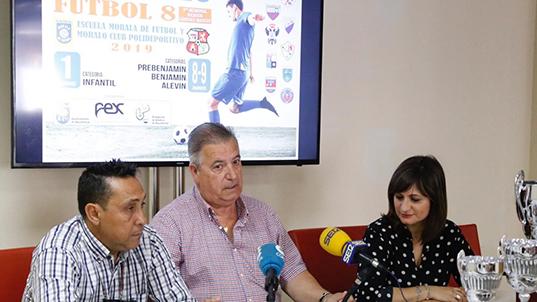 El XII Torneo de Fútbol 8 de Navalmoral anuncia la asistencia del Rayo Vallecano y del CD Léganes