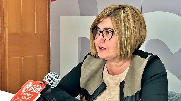 Charo Cordero volverá a ser la presidenta de la Diputación de Cáceres