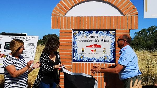 "Navalmoral inaugura el ""Carril Bici"" del Camino Navalmoral-Millanes"