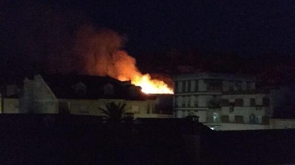 Noche de incendios en Navalmoral de la Mata