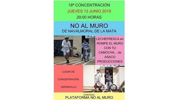 Asaco Producciones acompaña hoy la protesta de NO AL MURO