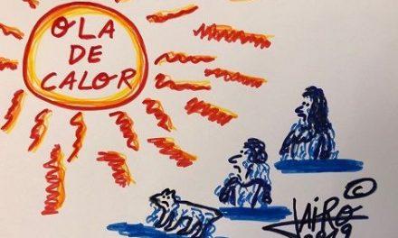 Ola de Calor – Las Viñetas de Jairo Jiménez