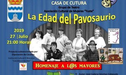 """Bohonal de Ibor cierra su semana cultural con """"La Edad del Pavosaurio"""""""