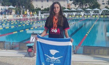 Laura Ballesteros, de ADA, 1ª de su edad en 50m braza del Cto de Extremadura