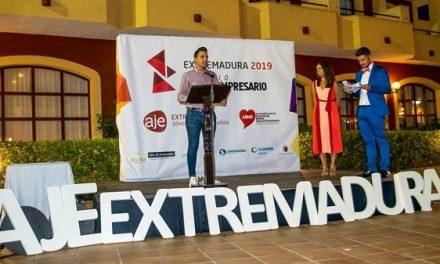 El jaraiceño Ismael Villalobos, premio Joven Empresario de Extremadura 2019