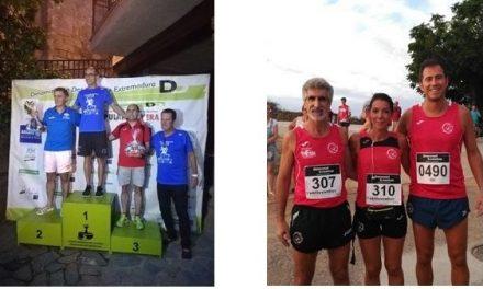 Carlos Tapia y Ana Ruiz, de Navalmaratón, finalizan terceros en sendas carreras del pasado fin de semana