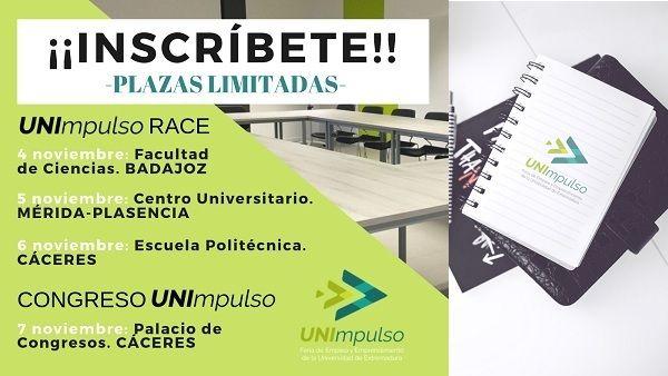 Abierto plazo de inscripción en los talleres gratuitos de la Feria de Empleo y Emprendimiento de la UEx