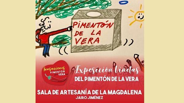 Nuestro colaborador Jairo Jiménez, expone sus viñetas en Plasencia