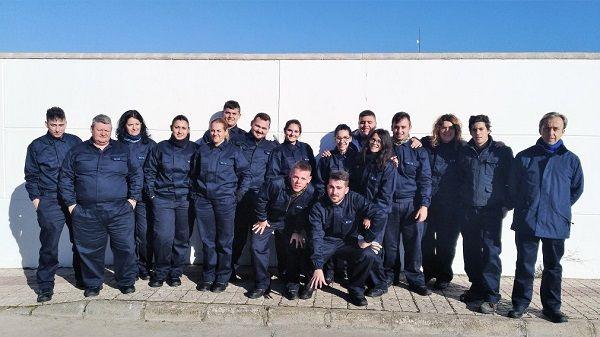15 desempleados se forman en CNA como profesionales de Fabricación y Montaje de Tubería Industrial.