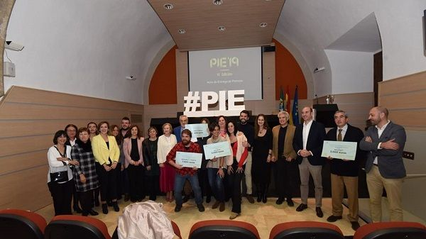 El peraleo Javier Arinero queda segundo en los Premios PIE 2019 de Diputación