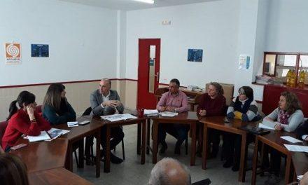 Reunión de trabajo en ARJABOR, con el secretario general de Población y Desarrollo Rural