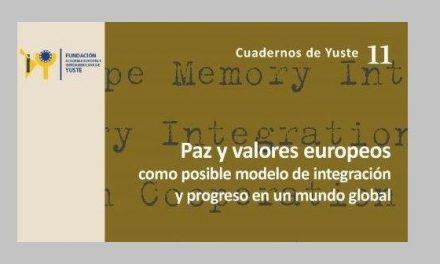 La Fundación Yuste presenta en Roma un libro sobre los valores europeos