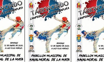 El Cto. senior de Extremadura de Taekwondo se celebra el domingo en Navalmoral
