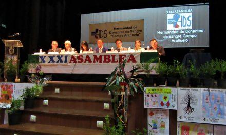 La Hermandad de Donantes de Sangre del Campo Arañuelo convoca su XXXIV Asamblea General