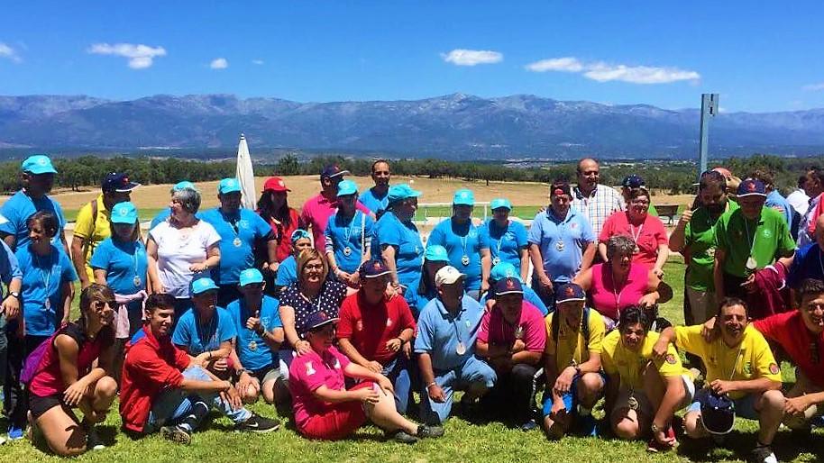 Talayuela acoge el campeonato de Golf Adaptado