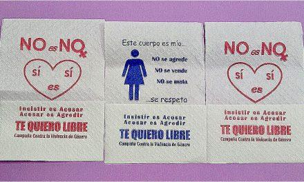 Vuelven las servilletas en pro de la Igualdad
