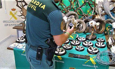 Cinco furtivos detenidos en el Arañuelo