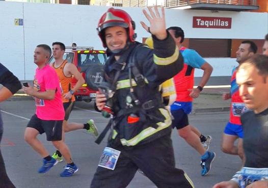 El bombero de CNA Agustín Miguel gana en Talavera