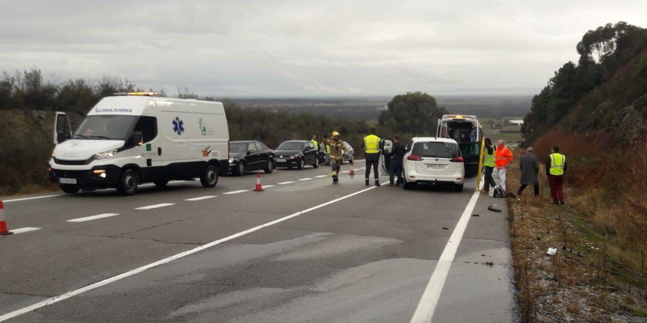 En el puente de Todos los Santos se registraron en Extremadura 55 accidentes de tráfico