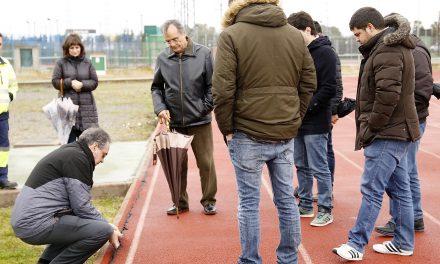 Comienzan las obras en la pista de atletismo