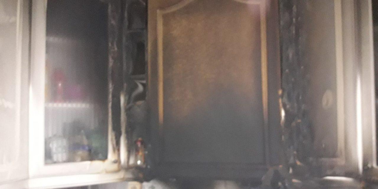 Incendio en el Paseo de la Estación de Navalmoral